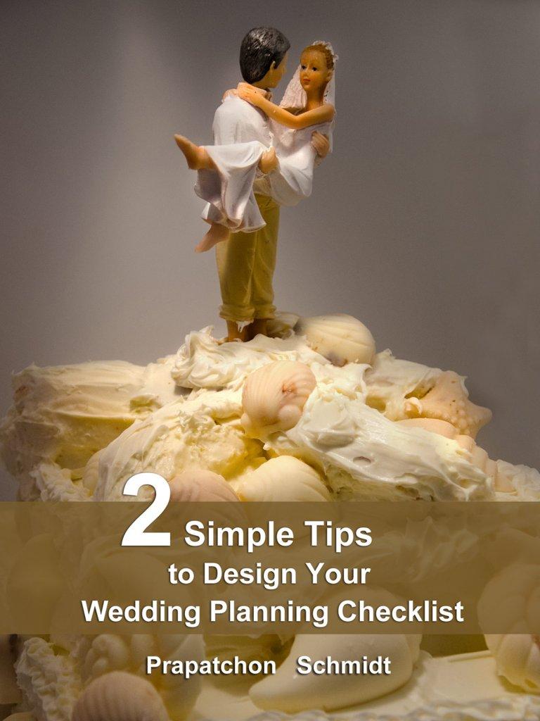 2 Simple Tips to Design Your Wedding Planning Checklist (ePub)